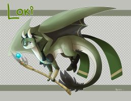 Lokidragon! by reb-chan