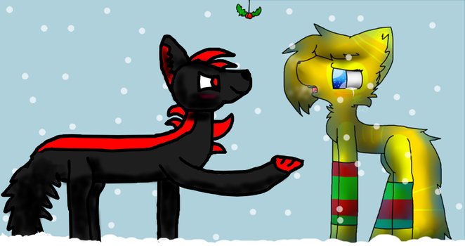 Collab When Bae Forgets The Hollidays by randy-da-raccoon