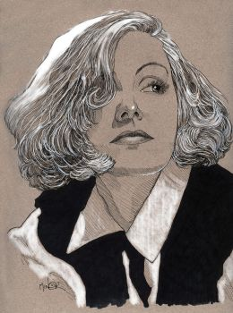 Greta Garbo ~ Queen Christina by Jerantino