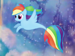 Sea Pony - Rainbow Dash, the MLP Movie! by PinkFlutter
