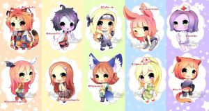 Chibi Batch---- Gift by Skf-Adopt