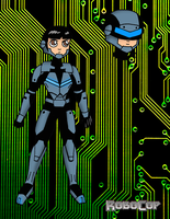 Female Robocop by JohnnyFive81