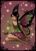 Dark Fairy Kalini by AnneMarie1986