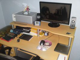 My Working Place by KujaEx