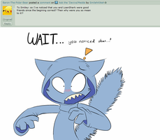 Ask the Devivs: Why are you mean to Loan Shark? by SmilehKitteh