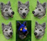 Wolfs Rain - Tsume Head by DrakonicKnight