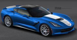 Corvette Stingray C7 Simple Racing by YogaBudiwCUSTOM