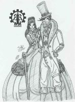 Reaver and Sarah - 3 by Angelus1990