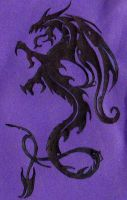 dragon paper cutting1 by Jellyfish00