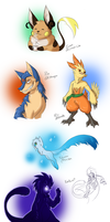 Nuzlocke Fan Art! by YinDragon