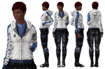 Outfit: Grey Alliance Hoodie by Just-Jasper