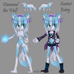 Contest Entry- Diamond design by KenotheWolf