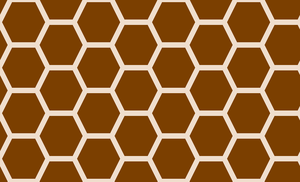 Honeycomb-298 (Chocolate Almond) by Trapped-Echoes