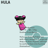 Fakemon_Hula by EmeraldSora