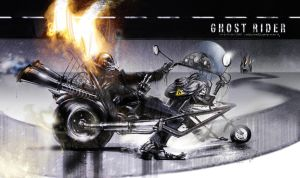 GhostRider4 by uwedewitt