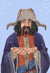 Bofur-and-snow by Ajir