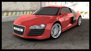 Audi R8 old by Tom-3D