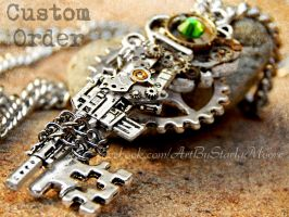 Custom Order M16 Key by ArtByStarlaMoore