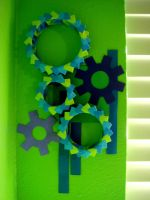 Wall Display-Gears Finished by metranisome