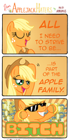 Dear Applejack Haters by RedApropos