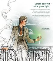The Great Gatsby_the green light by SimonaBonafiniDA