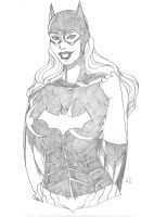Batgirl Pencils by Blanca-Cardenas
