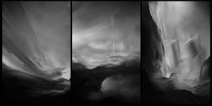 Landscapes sketches by ldimonl