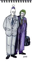 Joker and Lex by didism