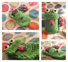 Froggy Cell Phone Case by Silent--Haze