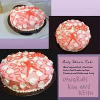 Baby Shower Cake by Jemmeh