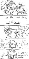 The first meeting -Hero and Villian part 7 by BeCarefulPaint