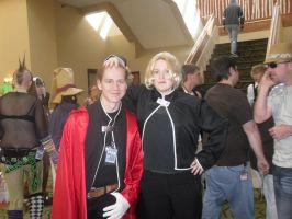 To tall of a ed cosplayer NDK by peppermix14