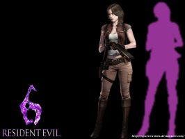 Helena Harper ~ Resident Evil 6 by Sparrow-Leon