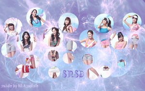 SNSD wallpaper by MiAmoure