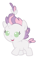Baby Sweetie Belle by MarianHawke