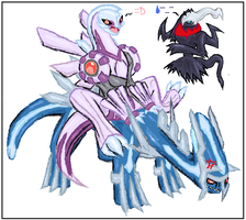 :: Piggy Back Ride :: by kyogre635
