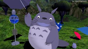 MMD Newcomer - Totoro +DL+ UPDATED by MMDCharizard