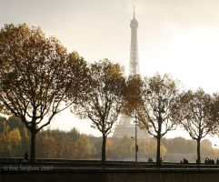 Paris - Rain Colours by EricForFriends