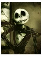 Jack Skellington by flegma