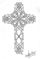 Celtic Cross Two by straykat
