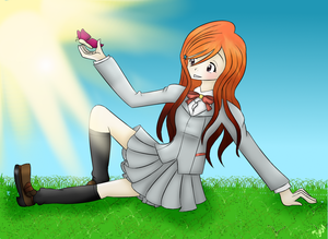 PC for ladycompassion: Orihime by RushFantasy