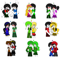 TAF - My OTPs :D by lovesdrawing721
