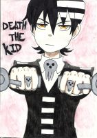 Death the Kid by thedarkartistgirl