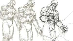 Kain Step by Step Drawing by TheHylden