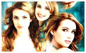 emma roberts blend by xshimmer