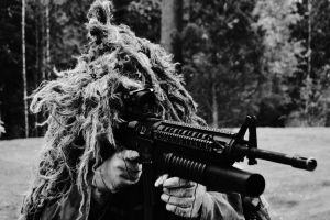 Ghillie suit by GoodOldRetro