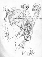 Old Zhara and HP group by LucyMeryChan