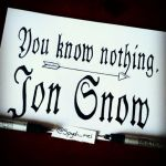 You know nothing, Jon Snow by Spydi-mel