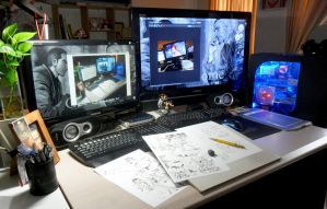 my workspace update by aenaluck