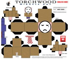 Torchwood - Soulless Cubee by mikedaws
